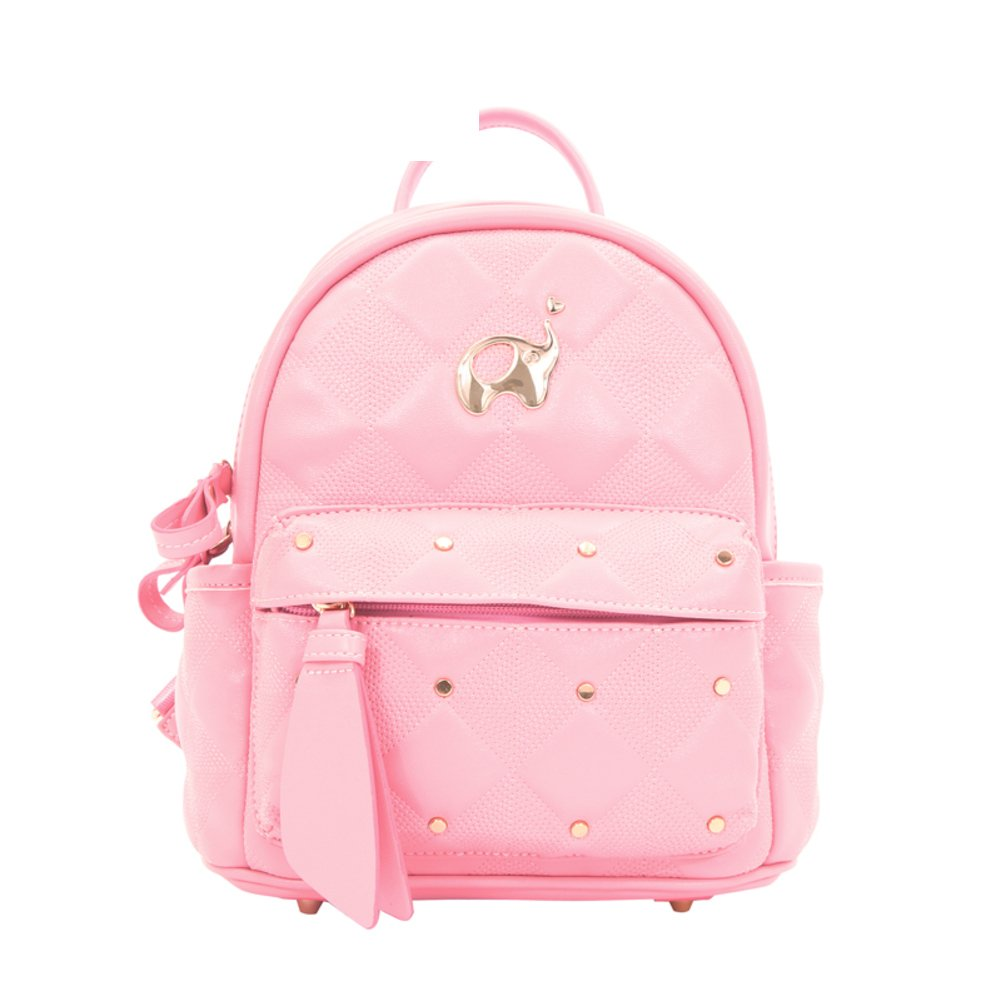 Mini backpack/Simple rhombic rivet Pack/The Korean version of the small Pack-A
