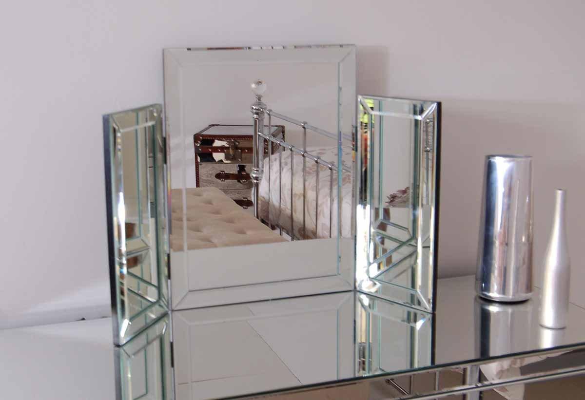 My-Furniture COLLETA, Spiegel fuer Frisiertisch 3-teilig ...