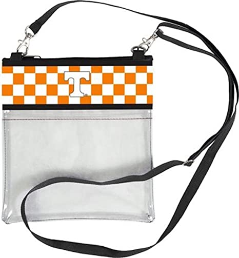 890494fef6 Image Unavailable. Image not available for. Color  Tennessee Volunteers  Clear Gameday Crossbody Bag
