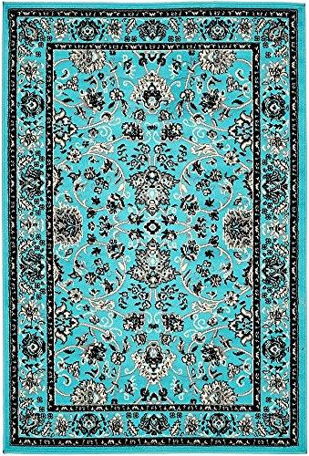 Unique Loom 3137498 4 6 Feet (4' x 6') Kashan Area