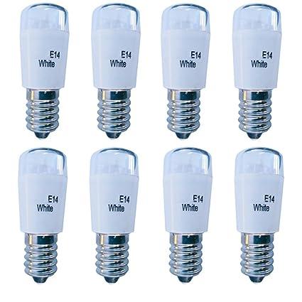 Shubiao LED-E14 Bombilla en miniatura 6500k Miniatura Bombilla en miniatura 1W Bombilla 110V/