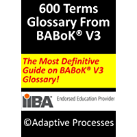 The Definite Guide on BABoK V3 Glossary : 600 terms explained