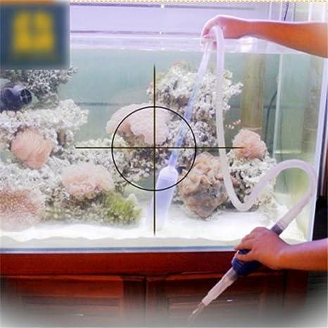 Nueva peces de acuario sifón manguera bomba de vacío grava filtro ...