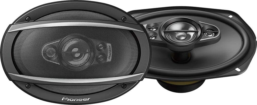 "Pioneer TS-A6990F 6x9"" 5-way car audio speakers (Pair),blk"