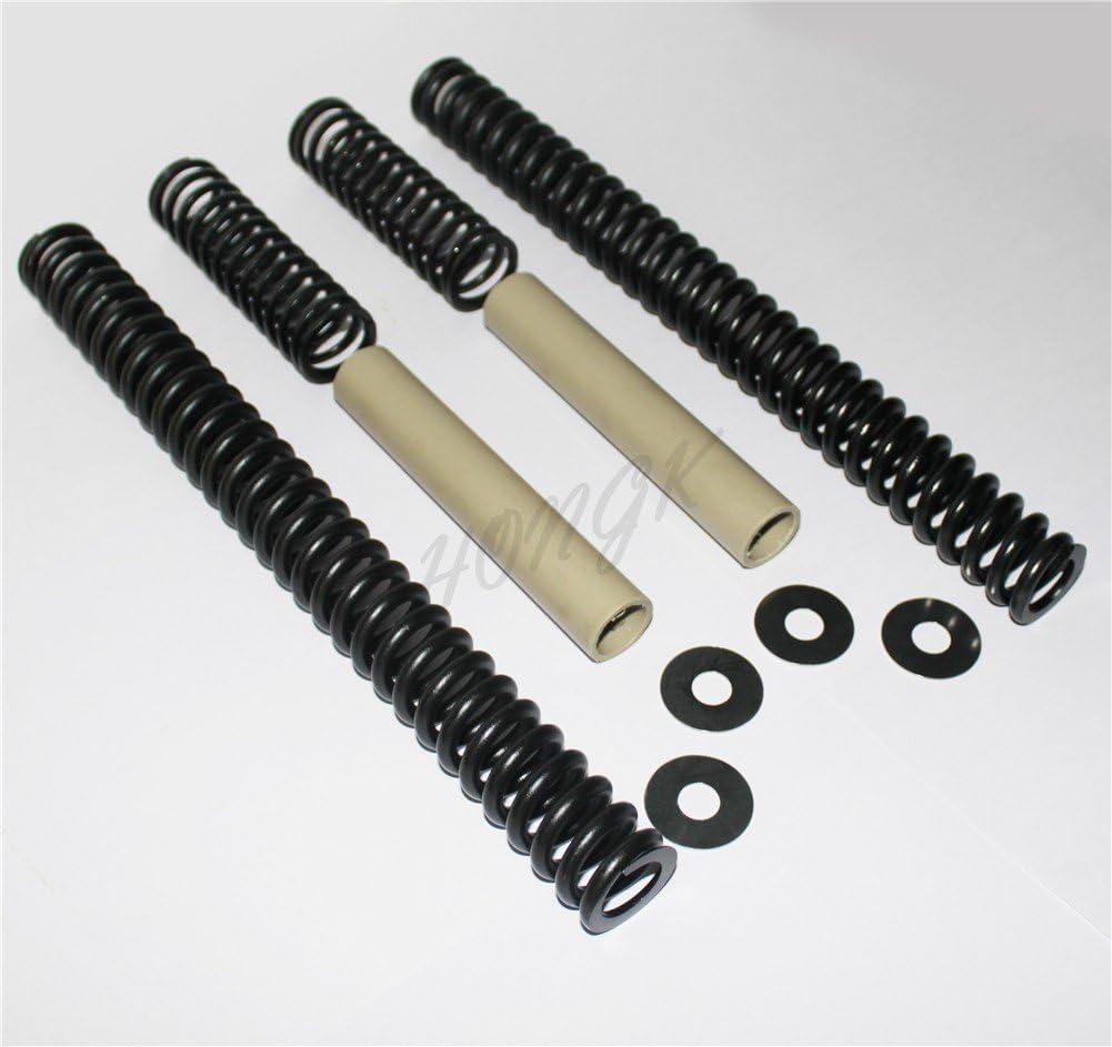 Set Progressive Drop-In Fork Lowering Kit For Harley 41mm Touring Softail 94-03 HK MOTO