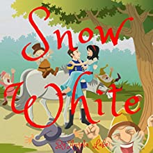 Snow White: Bedtime Story for Kids Audiobook by Angela Lake Narrated by Samantha V Hutton