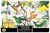 Michel Design Works Paper Placemats, 25-Count, Hummingbird