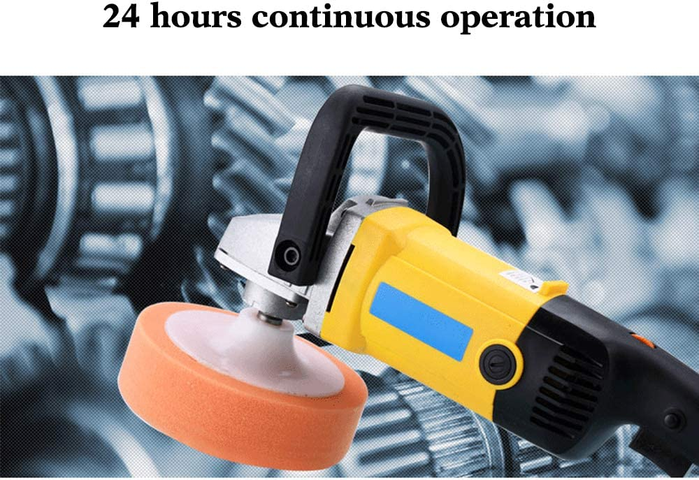 4YANG Portable Car polishing Machine 6-Speed Track Polishing Machine Used for Polishing and Waxing Automotive Details as well as Waxing and Sealing Glazes for Various Coatings