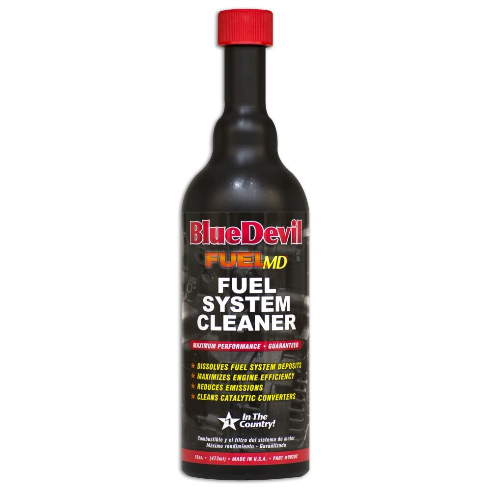 Blue Devil (00202-6PK) Fuel System Cleaner - 16 Ounce, (Pack of 6)