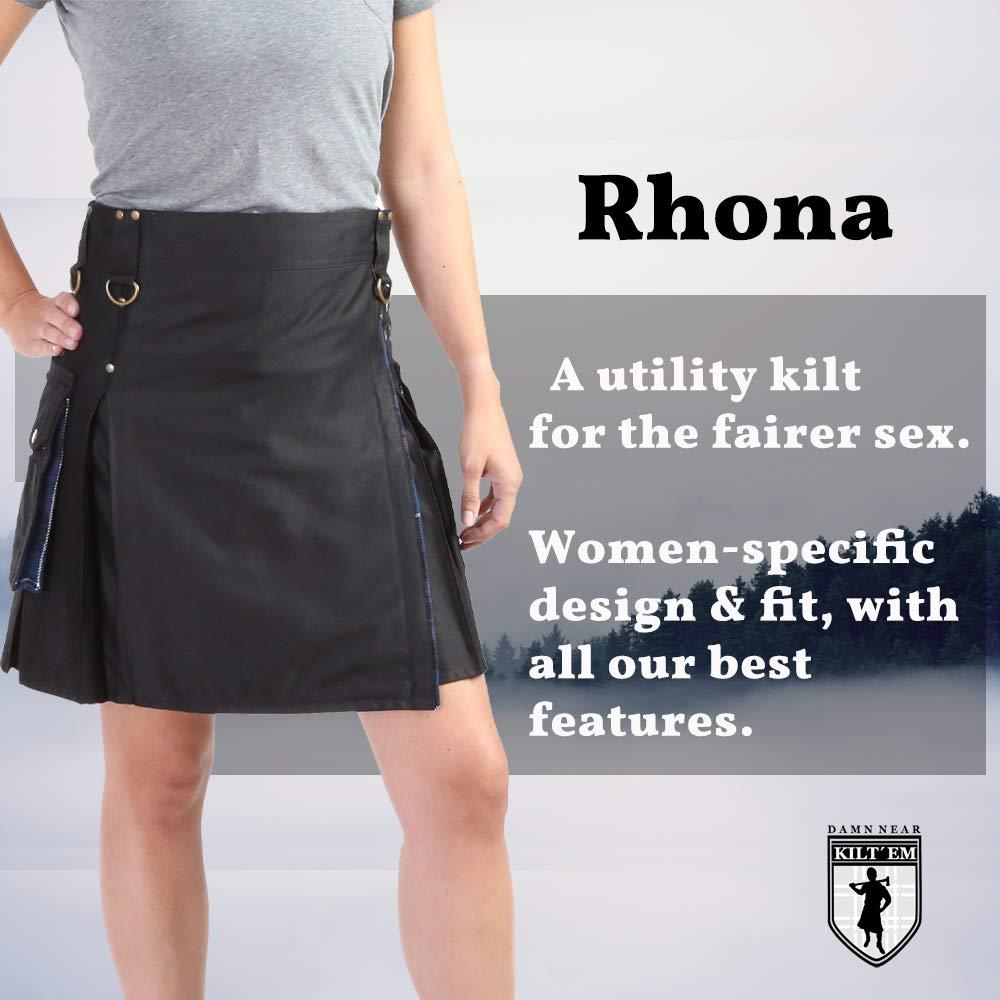 Damn Near Kilt Em Womens Rhona Utility Kilt