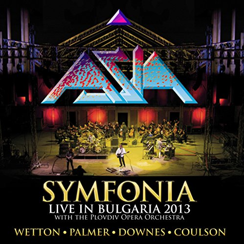 Asia - Symfonia - Live In Bulgaria 2013 (Deluxe 2CD) (2017) [CD FLAC] Download