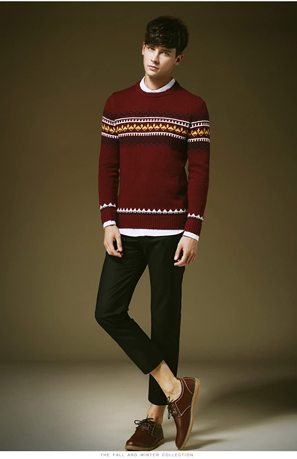 PLAER England style men's fashion sweater casual sweater