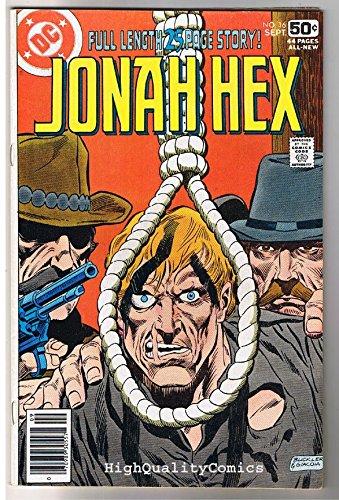 JONAH HEX #16, FN/VF, Scar face, Hang em High, 1977, more JH in store ()