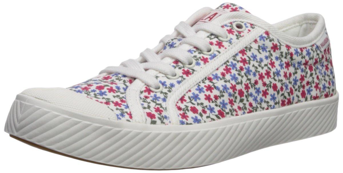 Palladium Women's Pallaphoenix CVS PRT Sneaker B074B46Q5H 7 B(M) US|White
