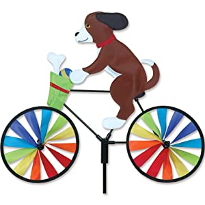 Premier Kites 20 in. Bike Spinner - Puppy