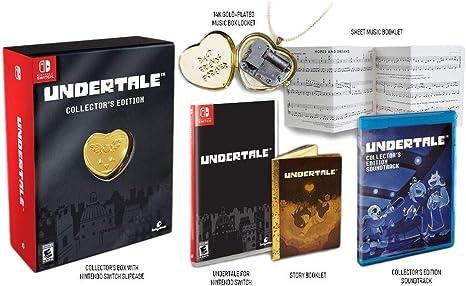 Undertale Collectors Edition Edicion Coleccionista - Nintendo Switch: Amazon.es: Videojuegos
