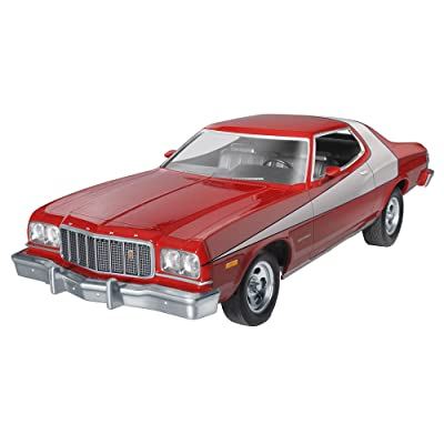 Revell/Monogram 1/25 Starsky & Hutch Ford Torino Model Kit: Toys & Games