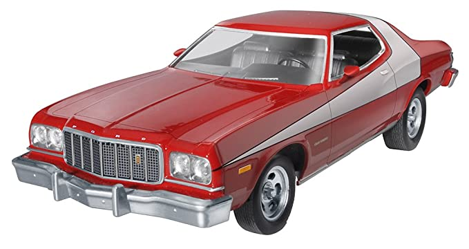 Amazon Com Revell Monogram 1 25 Starsky Hutch Ford Torino Model