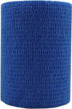 Risscly Azul 7.5cm venda cohesiva autoadhesivas cinta venda ...