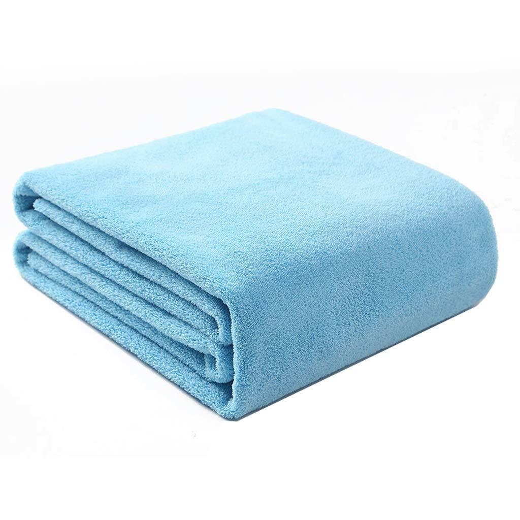 Maoji Baby Bath Towel Big Towel Baby Bathing Cotton Gauze Water Absorption Quick Drying Super Soft (Color : Blue) by Maoji