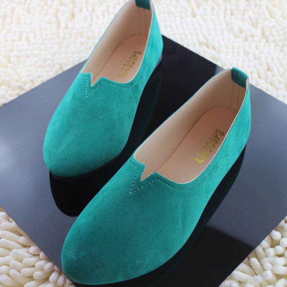 Femme Chaussures Paresseuses Confortables Ballerines Plates Pointue Chic y /Él/égant pour Les Filles Qui Aiment la beaut/é mais d/éteste Les Talons Hauts