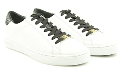 88303192189a Image Unavailable. Image not available for. Colour  MICHAEL KORS woman  sneakers low 43S5IRFS3L IRVING LACE UP ...