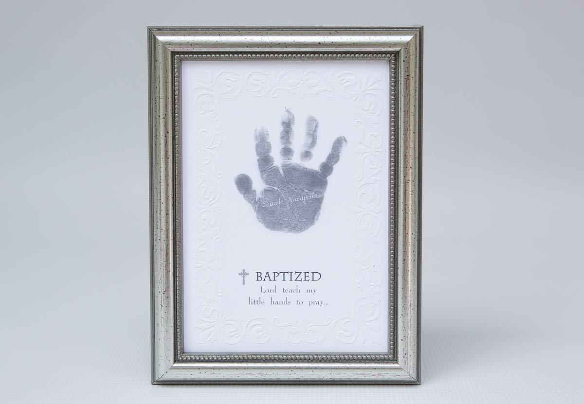 The Grandparent Gift Photo Frame, Baptism Handprint The Grandparent Gift Co. 5039