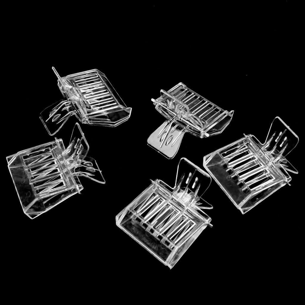 Gazechimp 5pcs Plastikhaarspange K/önigin K/äfig Bienenfang Fang Imkerwerkzeug
