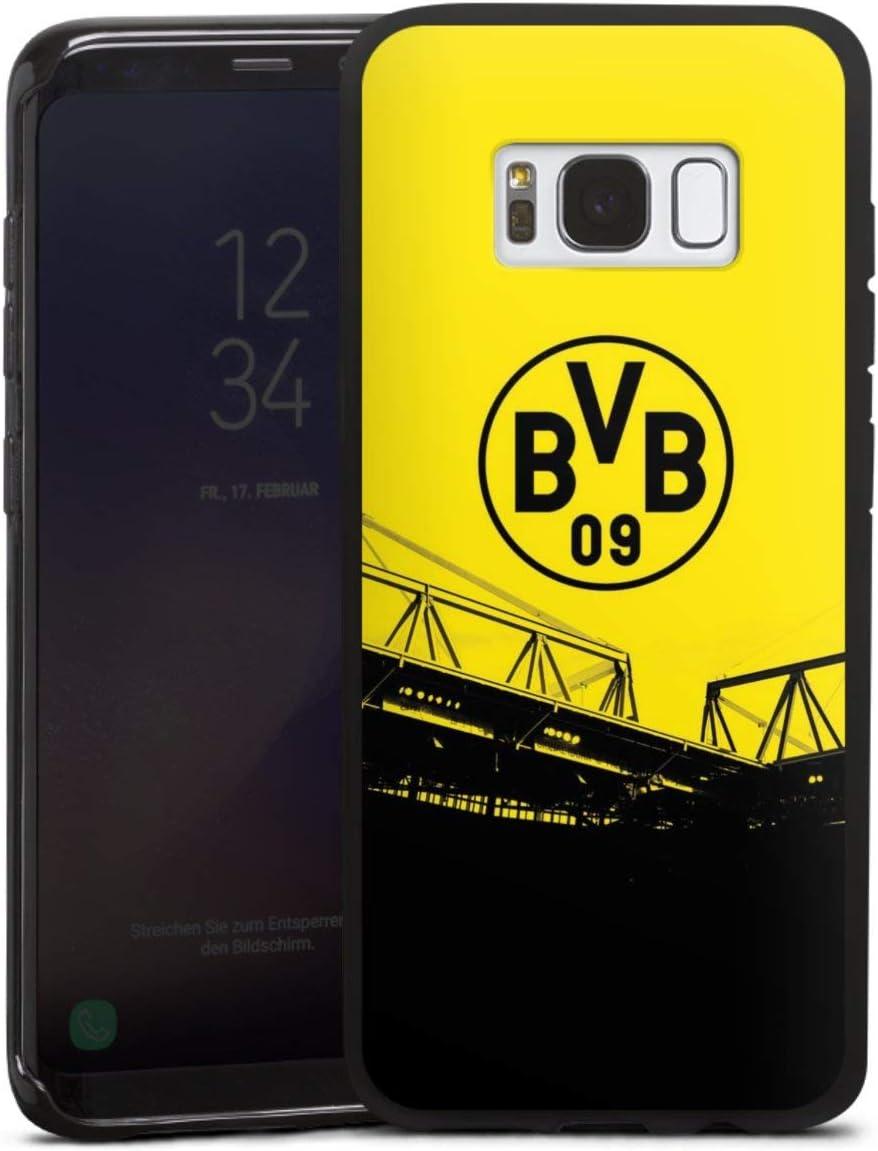 DeinDesign Silikon H/ülle kompatibel mit Samsung Galaxy S8 Case schwarz Handyh/ülle Borussia Dortmund Offizielles Lizenzprodukt BVB
