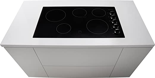 Hybrid cooktop gas induction