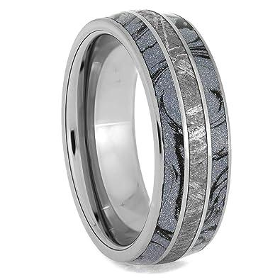 777c79cf4eb Jewelry By Johan Cobaltium Mokume and Meteorite Tungsten Ring ...
