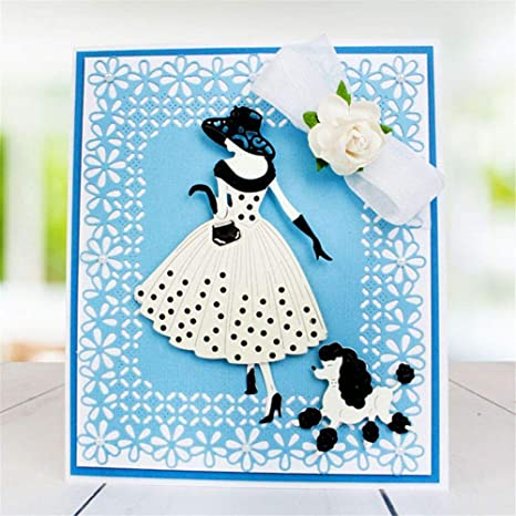 Lovely Embossing Stencil Metal Cutting Dies Scrapbook Cutting Tool Boy Girl