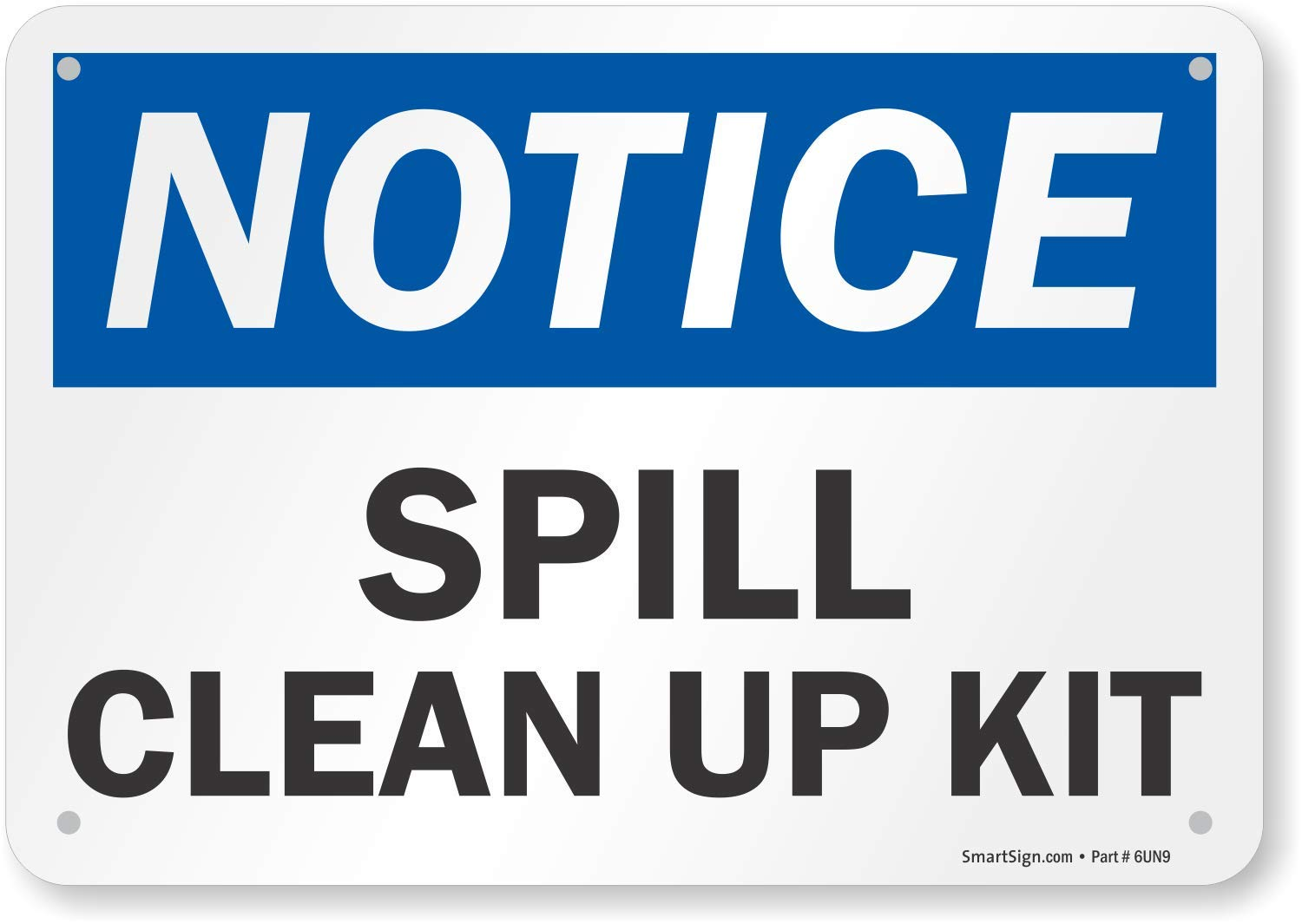 Cleaning up a spill
