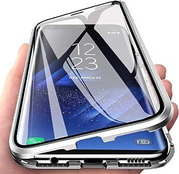 HALPP Funda Samsung A70,360° Metal Bumper con Adsorción Magnética ...