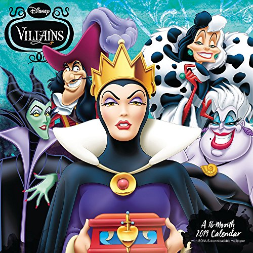 Disney Villains Wall Calendar (2019)]()
