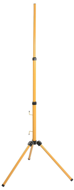 As - schwabe 46650 - Schwabe como soporte para las luces, altura ajustable hasta 1,80 m amarillo