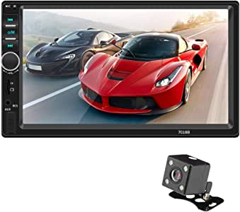 COODIO Android io/s Interconnection HD 7 Inch Car MP4 Plug-in Vehicle MP5 Player Touch Screen Multimedia Player with Camera Special Electronic Accessories