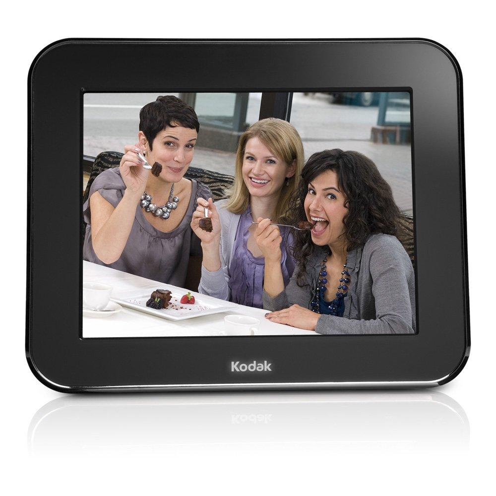 amazoncom kodak pulse 7 inch wi fi digital frame with custom e mail address for immediate sharing kodak wifi frame camera photo