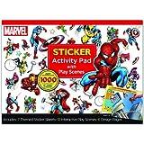 Bendon Marvel Super Heroes Ultimate Sticker Activity Pad