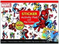 Bendon Marvel Super Heroes Ultimate Sticker Activity Pad