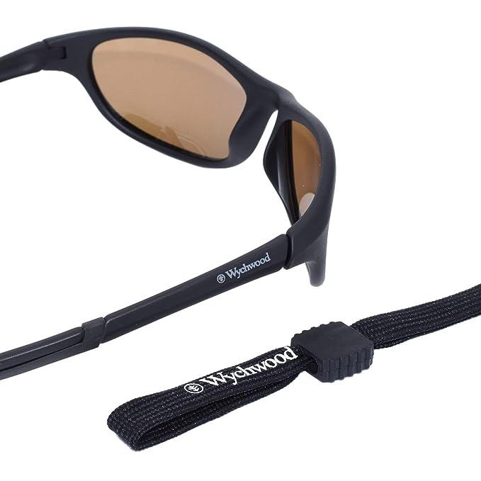 6ec244dfcf4 Wychwood Black Wrap Sunglasses Brown Lense  Amazon.co.uk  Sports   Outdoors