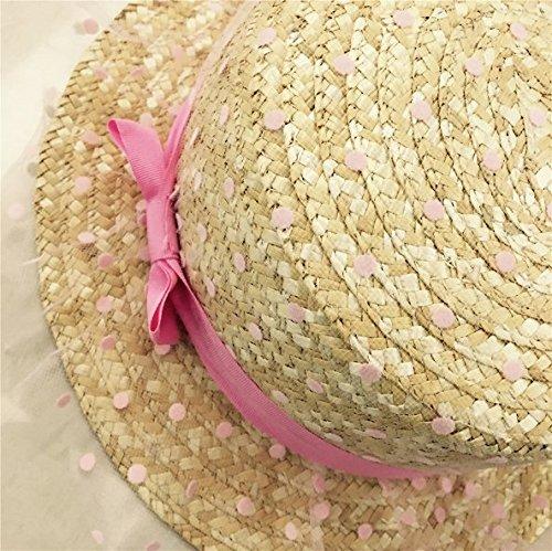 9e78db0376765 Amazon.com  Demarkt Women Sun Hats Ladies Small Pots Round Hat Summer Flat  Top Gauze Cap  Clothing