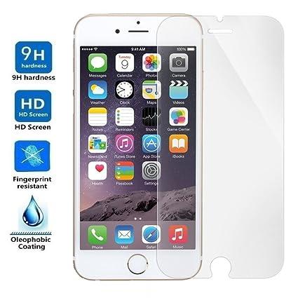 7981c235b23 Protector de Pantalla para IPHONE 7 / IPHONE 8, Cristal Vidrio Templado  Premium, Electrónica