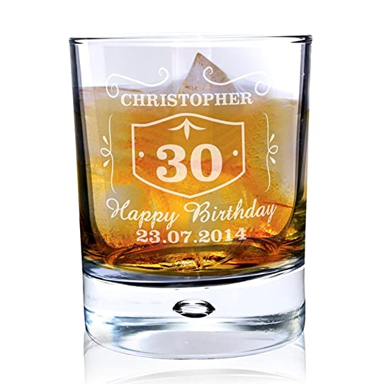 Verre À Whisky Style Jack Daniels À Personnaliser: Amazon.Fr