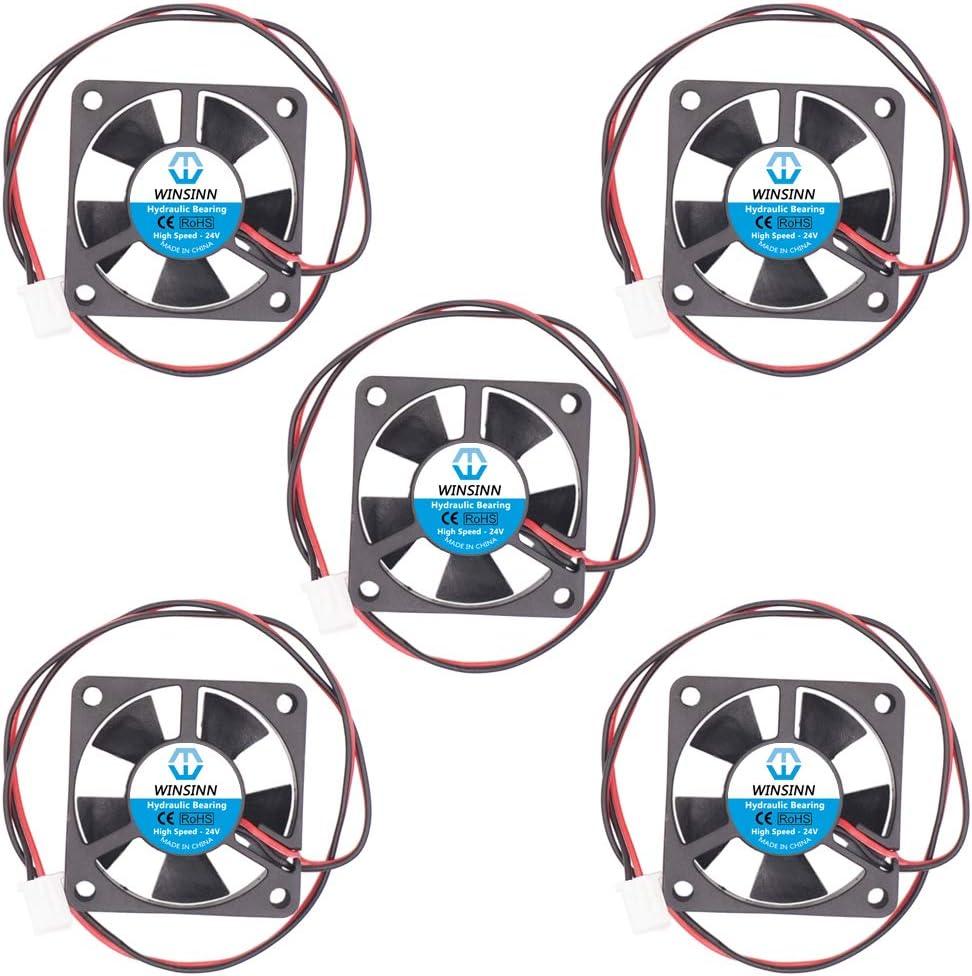 WINSINN 35mm Fan 24V Hydraulic Bearing Brushless 3510 35x10mm - High Speed (Pack of 5Pcs)