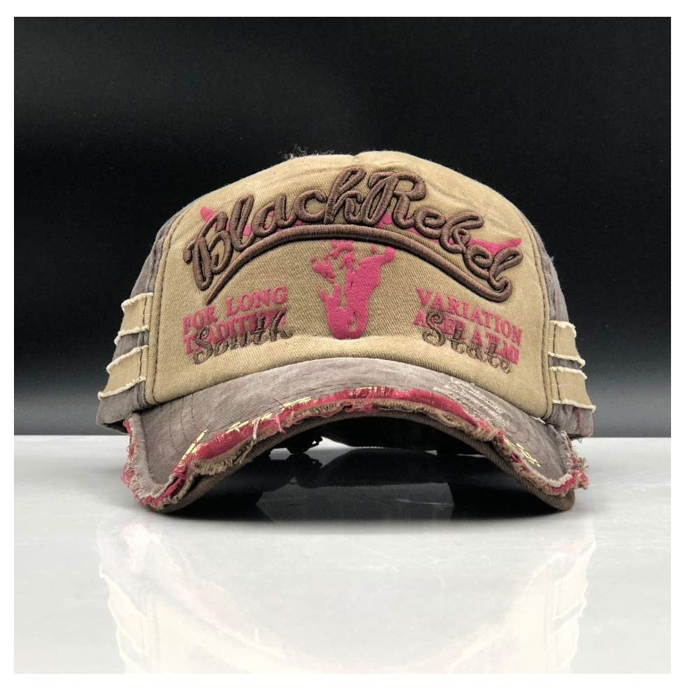 LLPBUA-HAT Washed Cap Casquette Men Women Snapback Caps Hats Vintage Gorras Washed Cotton
