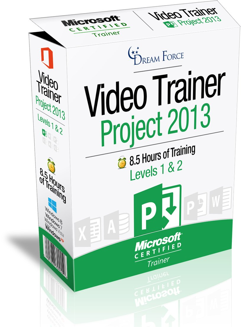 Project 2013 Training Videos - 8.5 Hours of Project 2013 training by Microsoft Office: Specialist, Expert and Master, and Microsoft Certified Trainer (MCT), Kirt Kershaw by DreamForce LLC