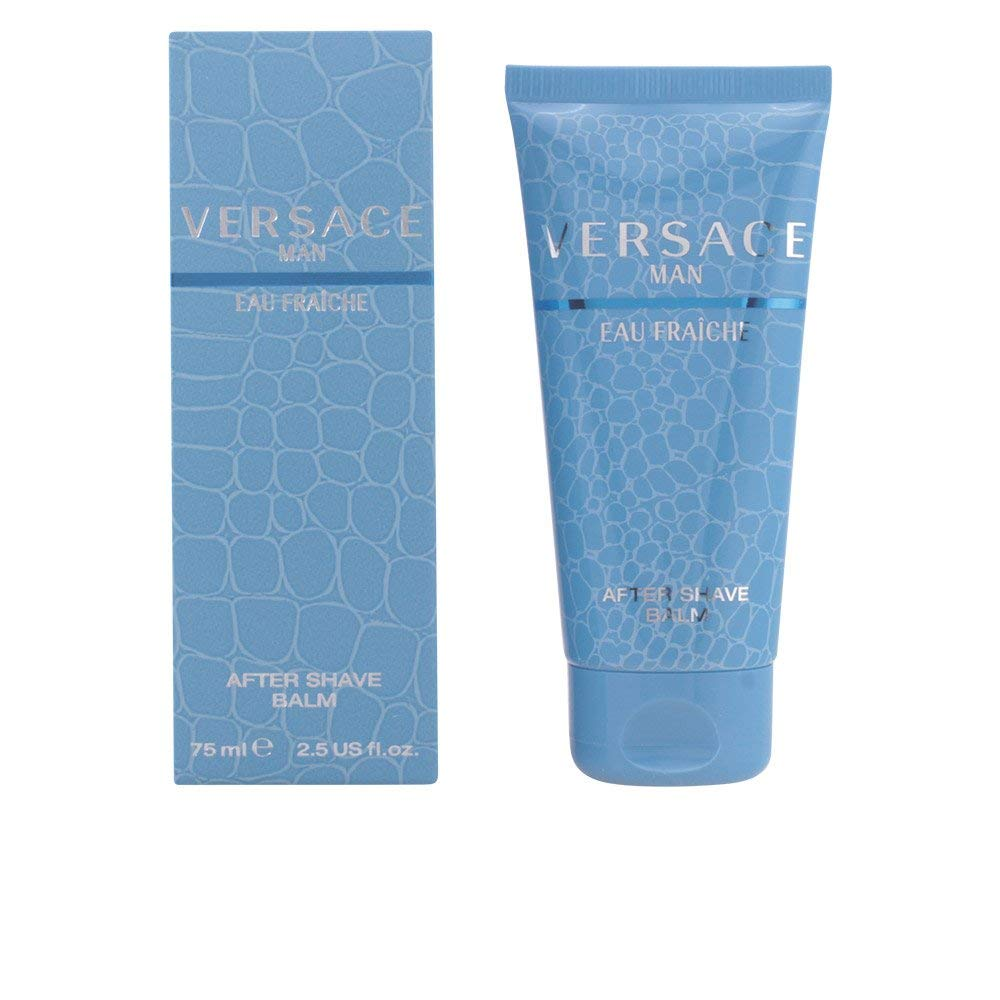 Versace Man Eau Fraiche Aftershave Balm 2.5 Oz / 75 Ml for Men by Gianni Versace by Versace