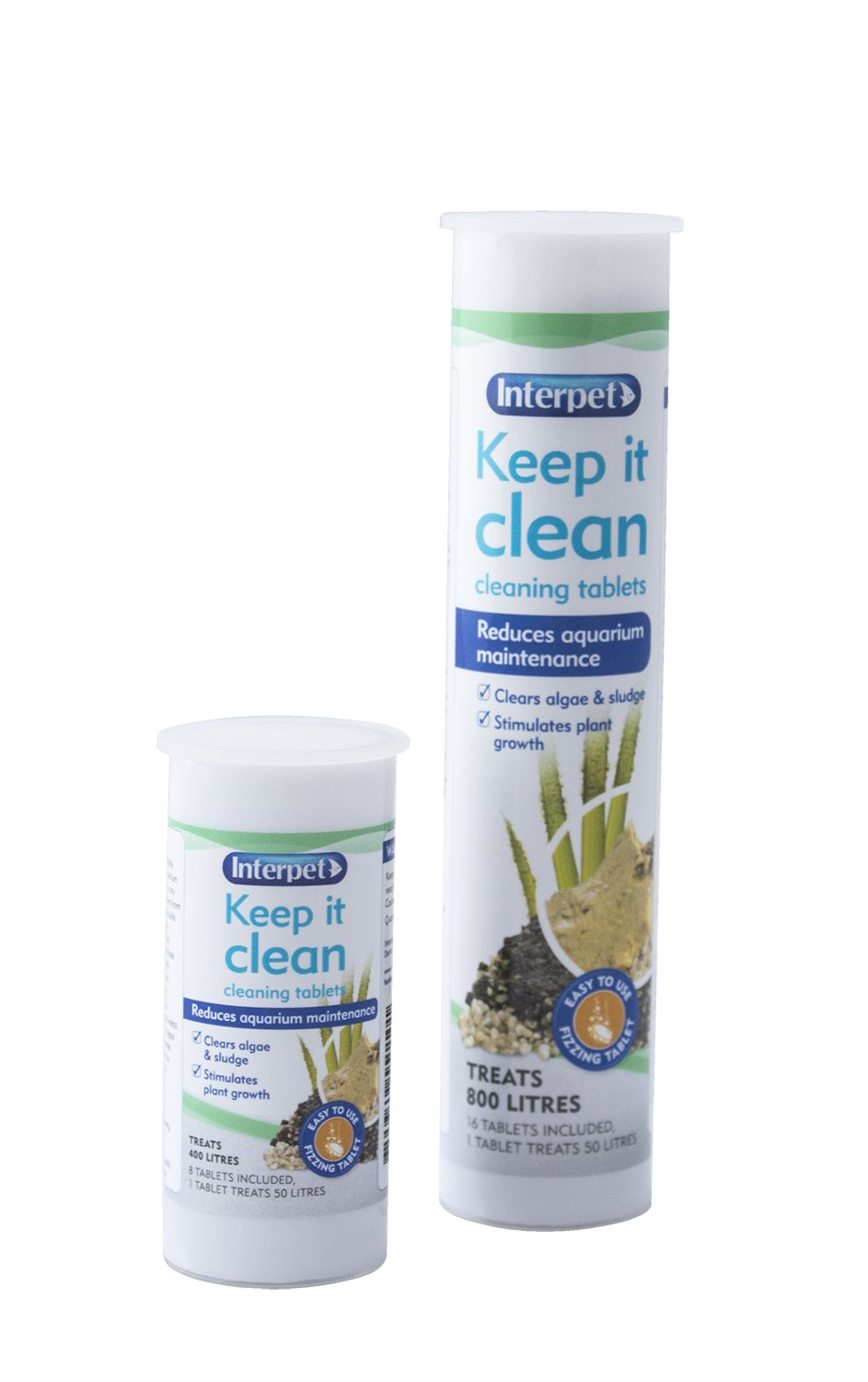 Interpet Keep It Clean Tablets, Pack of 16: Amazon.co.uk: Pet Supplies