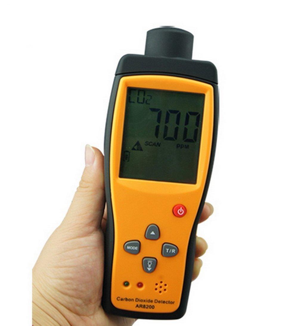 Handheld Carbon Dioxide Detector Precise CO2 Meter Air Quality Tester AR8200